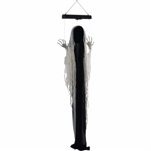 Haunted Hill Farm Animatronic Ghost Halloween Decoration Perspective: front