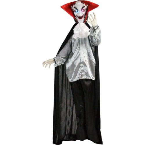 Haunted Hill Farm Animatronic Vampire Halloween Decoration Perspective: front