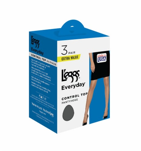L'Eggs Everyday Control Top Pantyhose - Suntan Perspective: front