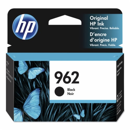 HP 962 Original Ink Cartridge - Black Perspective: front
