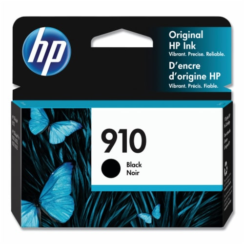 HP 910 Original Ink Cartridge - Black Perspective: front