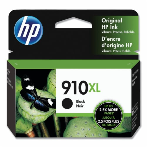 HP 910XL Ink Cartridge - Black Perspective: front