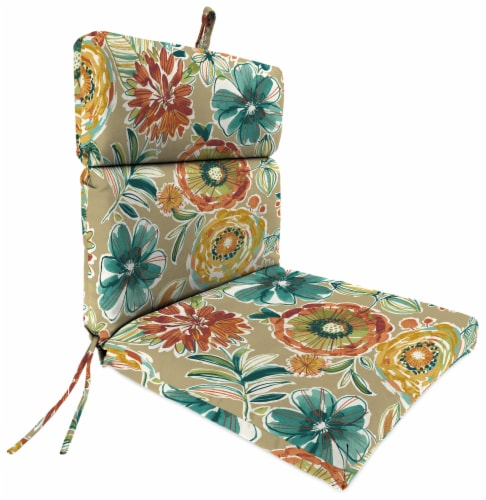 Jordan Manufacturing French Edge Chair Cushion - Colsen Sonoma Perspective: front