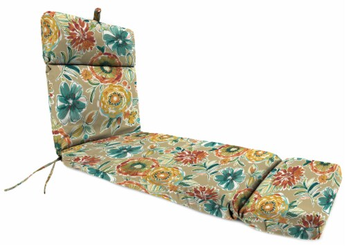 Jordan Manufacturing French Edge Chaise Chair Cushion - Colsen Sonoma 22 x 72 in Perspective: front