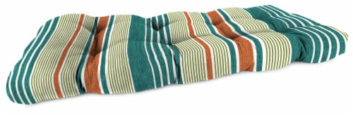 Jordan Manufacturing Wicker Settee Cushion - Bacall Sonoma Perspective: front