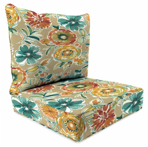 Jordan Manufacturing Deep Seat Pillow Back Set - Colsen Sonoma Perspective: front