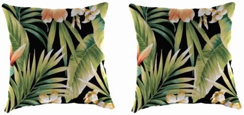 Jordan Manufacturing Toss Pillow - Cypress Midnight Perspective: front