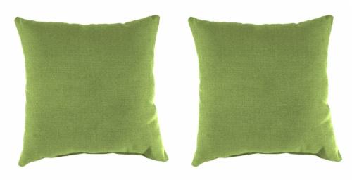 Jordan Manufacturing Toss Pillow - Husk Texture Leaf Perspective: front