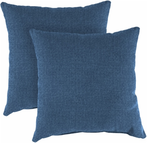 Jordan Manufacturing Outdoor Square Toss Pillows - McHusk Capri Perspective: front