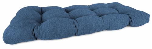 Jordan Manufacturing Wicker Settee Cushion - McHusk Capri Perspective: front