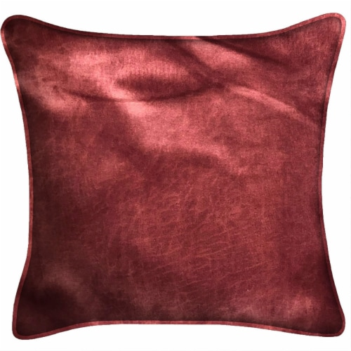 Jordan Manufacturing Pinnacle Wine Decor Pillow - Red Perspective: front