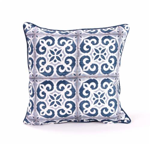 Jordan Manufacturing Mosaic Print Decorative Pillow Perspective: front
