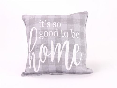 Jordan Manufacturing Good To Be Home Decorative Pillow Perspective: front