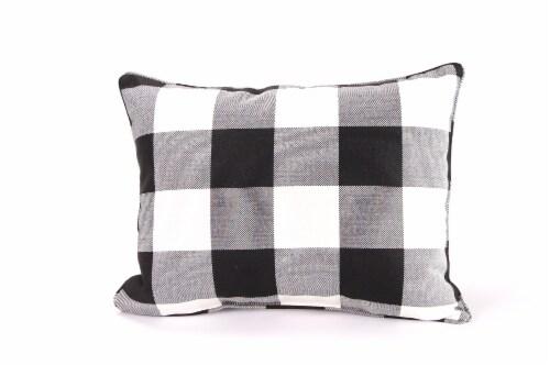 Jordan Manufacturing Woven Buffalo Decorative Pillow Perspective: front