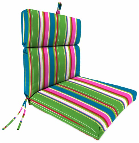 Jordan Manufacturing Covert Island Outdoor French Edge Dining Chair Cushion Perspective: front