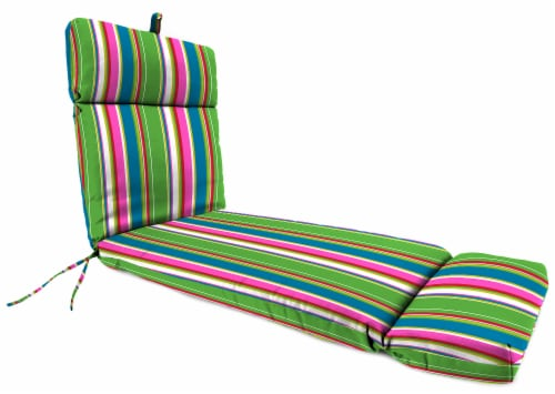 Jordan Manufacturing Covert Island Outdoor French Edge Chaise Lounge Cushion Perspective: front