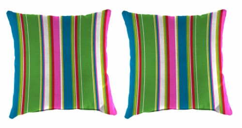 Jordan Manufacturing Covert Island Outdoor Knife Edge Throw Pillows - 2 Pack Perspective: front