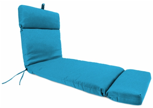 Jordan Manufacturing McHusk Hawaiian Outdoor French Edge Chaise Lounge Cushion Perspective: front