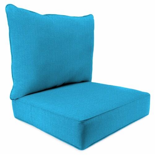 Jordan Manufacturing McHusk Hawaiian Outdoor Deep Seat Chair Cushion Perspective: front