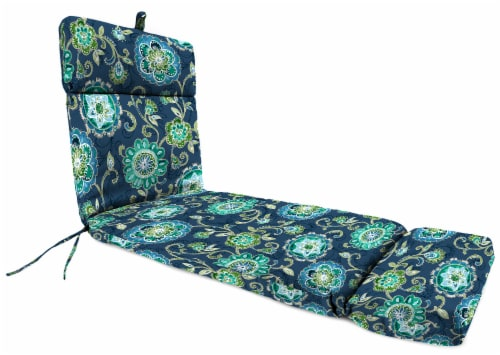 Jordan Manufacturing Fanfare Capri Outdoor French Edge Chaise Lounge Cushion Perspective: front