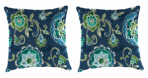 Jordan Manufacturing Fanfare Capri Outdoor Accessory Throw Pillows - 2 Pack Perspective: front
