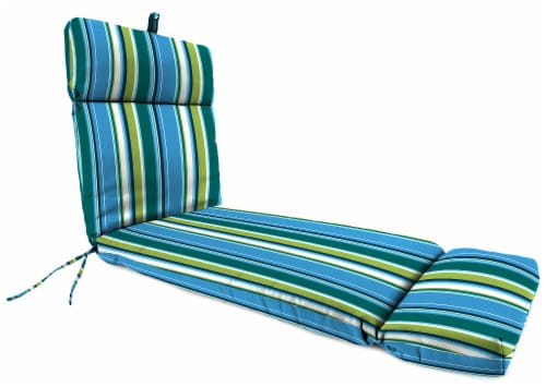 Jordan Manufacturing Covert Capri Outdoor French Edge Chaise Lounge Cushion Perspective: front