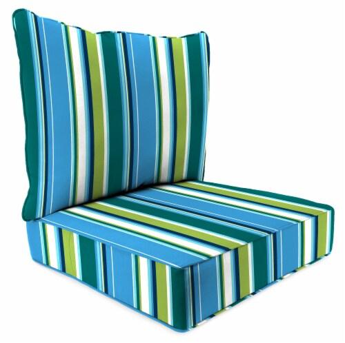 Jordan Manufacturing Covert Capri Outdoor Deep Seat Chair Cushion Perspective: front