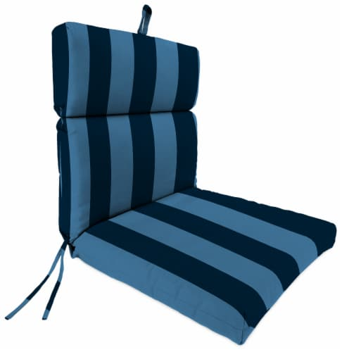 Jordan Manufacturing Preview Capri Outdoor French Edge Dining Chair Cushion Perspective: front