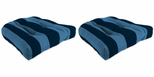 Jordan Manufacturing Preview Capri Outdoor Wicker Chair Cushions Perspective: front