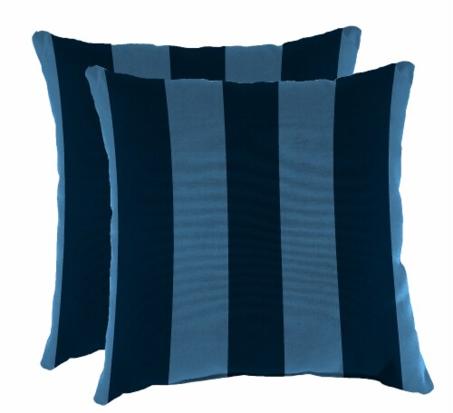 Jordan Manufacturing Preview Capri Outdoor Accessory Throw Pillows - 2 Pack Perspective: front