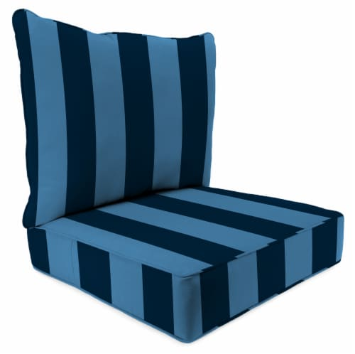 Jordan Manufacturing Preview Capri Outdoor Deep Seat Chair Cushion Perspective: front