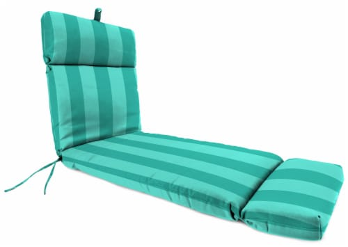 Jordan Manufacturing Preview Lagoon Outdoor French Edge Chaise Lounge Cushion Perspective: front