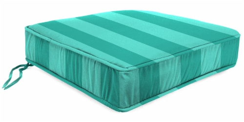 Jordan Manufacturing Preview Lagoon Outdoor Boxed Edge Deep Seat Cushion Perspective: front