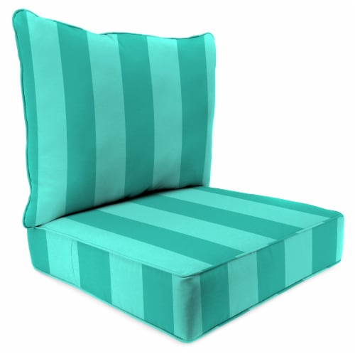 Jordan Manufacturing Preview Lagoon Outdoor Deep Seat Chair Cushion Perspective: front