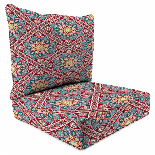 Jordan Manufacturing Medlo Sonoma Outdoor Deep Seat Chair Cushion Perspective: front