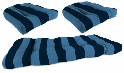 Jordan Manufacturing Preview Capri 3-Piece Outdoor Wicker Set Perspective: front