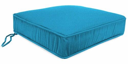 Jordan Manufacturing McHusk Hawaiian Outdoor Boxed Edge Deep Seat Cushion Perspective: front