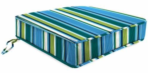 Jordan Manufacturing Covert Capri Outdoor Boxed Edge Deep Seat Cushion Perspective: front