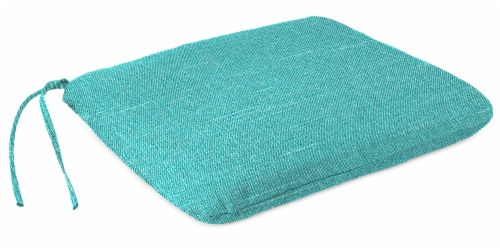 Jordan Manufacturing Tory Caribe Outdoor Monoblock Seat Cushions Perspective: front