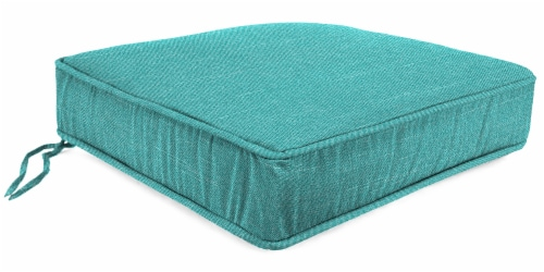 Jordan Manufacturing Tory Caribe Outdoor Boxed Edge Deep Seat Cushion Perspective: front