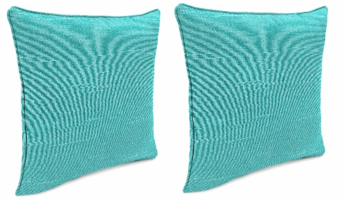 Jordan Manufacturing Tory Caribe Outdoor Accessory Throw Pillows with Welt - 2 Pack Perspective: front