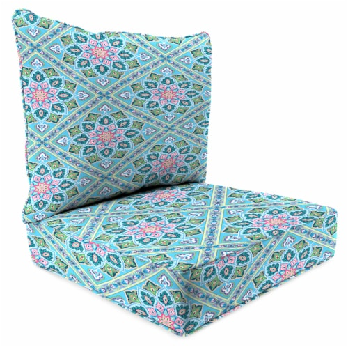 Jordan Manufacturing Medlo Island Outdoor Deep Seat Chair Cushion Perspective: front