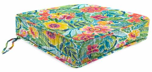 Jordan Manufacturing Pensacola Multi Outdoor Boxed Edge Deep Seat Cushion Perspective: front