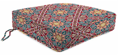 Jordan Manufacturing Medlo Sonoma Outdoor Boxed Edge Deep Seat Cushion Perspective: front