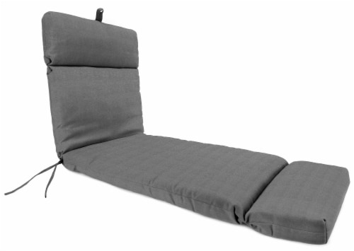 Jordan Manufacturing Tango Zinc Outdoor French Edge Chaise Lounge Cushion Perspective: front