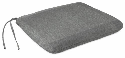 Jordan Manufacturing Tango Zinc Outdoor Monoblock Seat Cushions Perspective: front