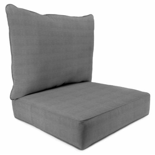 Jordan Manufacturing Tango Zinc Outdoor Deep Seat Chair Cushion Perspective: front