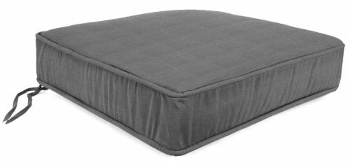 Jordan Manufacturing Tango Zinc Outdoor Boxed Edge Deep Seat Cushion Perspective: front