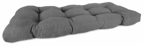 Jordan Manufacturing Tango Zinc Outdoor Wicker Loveseat Cushion Perspective: front