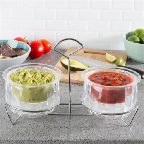 Classic Cuisine 82-KIT1081 Cold Dip Bowls Perspective: front